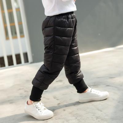 2020年新款儿童羽绒棉裤男女童秋冬中小童长裤宝宝童裤