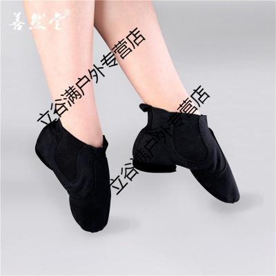 肚皮舞蹈鞋軟底練功鞋女成人芭蕾舞鞋貓爪鞋考試跳舞鞋形體瑜伽鞋