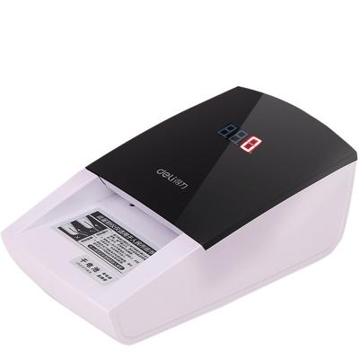 得力(deli) 便携式小型语音验钞机 精准点钞验钞仪 碳性干电池+外接电源 2129