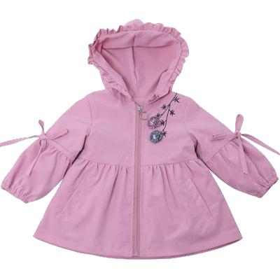 女童春秋外套2019新款時髦上衣中小兒童衣服女寶寶洋氣風衣公主潮 莎丞