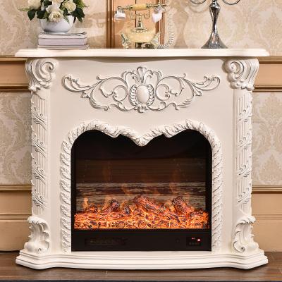 帝軒名典 歐式壁爐架裝飾柜 1.2米美式壁爐架電視柜 裝飾取暖爐芯