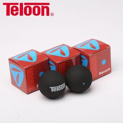 天龙/Teloon专业比赛壁球初学训练壁球蓝点红点双点壁球[定制] 【3粒听装】双黄点TDY001(专业超慢速)