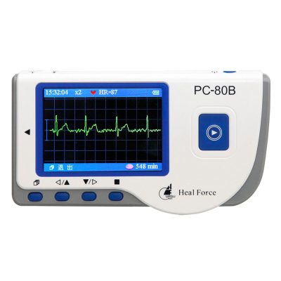 力康 家用24小時心臟心電圖機心率監測儀動態監護儀醫用心跳檢測