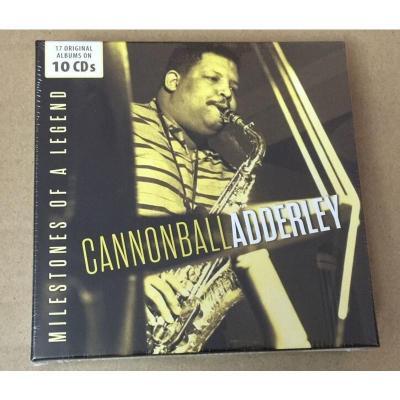 600365 Cannonball Adderley中音萨克斯 专辑合集10CD 正版 预订