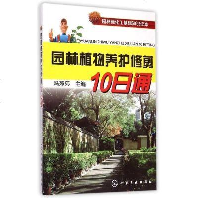 正版书籍 园林绿化工基础知识读本--园林植物养护修剪10日通 园艺书籍 绿化植被管理书籍 植物树木花卉修剪造型种植栽