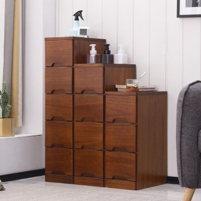 25cm20寬實木夾角縫隙儲物收納柜子抽屜式小床頭邊柜廚房置物架窄