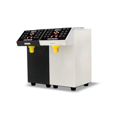 lecon/乐创洋博 果糖机 黑色 商奶茶专用全自动果糖定量机 16格超精准台湾果糖机 咖啡店糖浆机