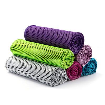 星客士 冰巾健身房男女跑步吸汗速干戶外裝備冷感運動毛巾冰涼巾