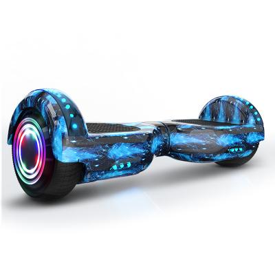 阿尔郎(AERLANG)智能平衡车儿童8-12双轮电动双轮扭扭车代步车X3E-B 蓝星空