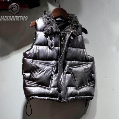 【品牌特賣】兒童羽絨棉馬甲男童馬甲秋冬季男寶寶童裝羊羔毛領加厚馬夾外套潮