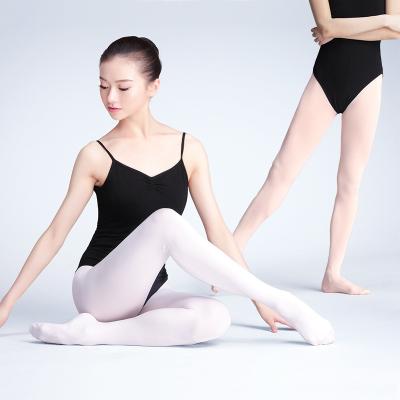 天天舞苑,Daydance儿童舞蹈袜透气薄款练功袜子白色脚底挖洞连裤袜成人丝袜芭蕾大袜