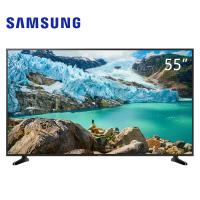 三星55英寸4K超高清电视平面杜比音效HDR10+语音互联智能电视机