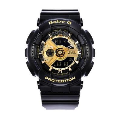 【直營】卡西歐(CASIO)手表 BABY-G系列 女士防震防水雙顯運動手表石英表 女表