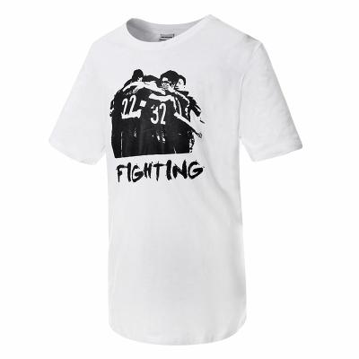 蘇寧足球俱樂部棉質男士休閑新品短袖印花圖案文化衫T恤