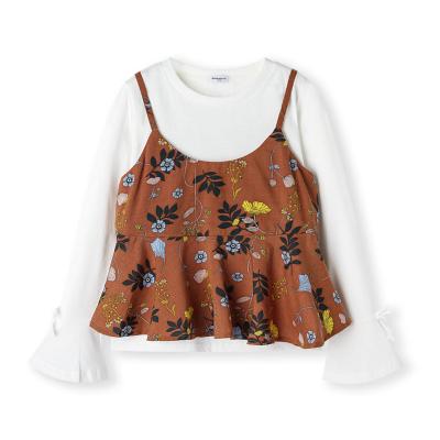 巴拉巴拉童装女童衬衫长袖2019新款秋装儿童上衣中大童衬衣印花潮