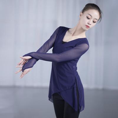 因樂思(YINLESI)古典舞身韻練功服 民族舞蹈服 藝考民族紗衣 教師形體服 演出服
