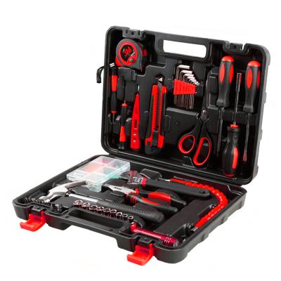 賽拓(SANTO)家用工具套裝 維修工具箱工具組套 手動工具 螺絲批錘子鉗子扳手