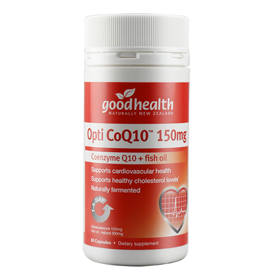 好健康(goodhealth)辅酶Q10软胶囊150mg*60粒 Omega-3 瓶装保健品