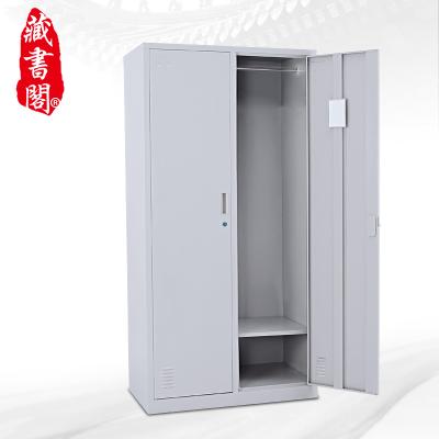 【藏書閣】更衣柜2門衣柜鐵皮柜儲物柜鐵衣柜