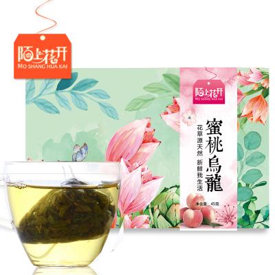 陌上花開蜜桃烏龍茶 白桃烏龍蜜茶水果冷泡茶組合三角茶包袋泡茶