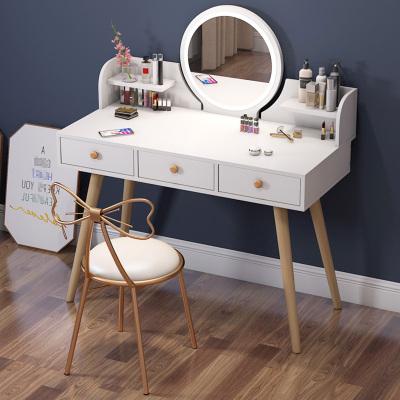 梳妝臺現代簡約臥室小戶型梳妝桌阿斯卡利化妝臺化妝桌子