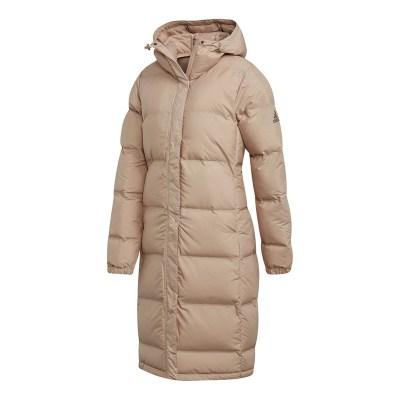 阿迪达斯(adidas)2018女子户外运动防风保暖棉服茄克CY8635