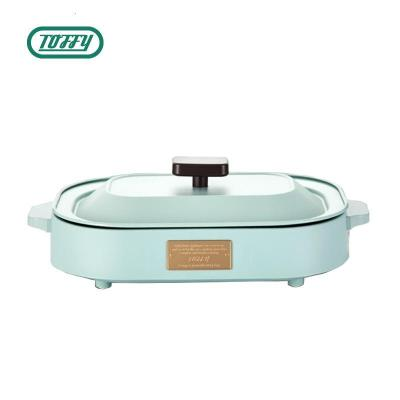 Toffy BBQ烤盘K-HP1烧烤盘烤肉机电烧烤炉家用无烟电烤盘不粘烤肉盘铁板烧