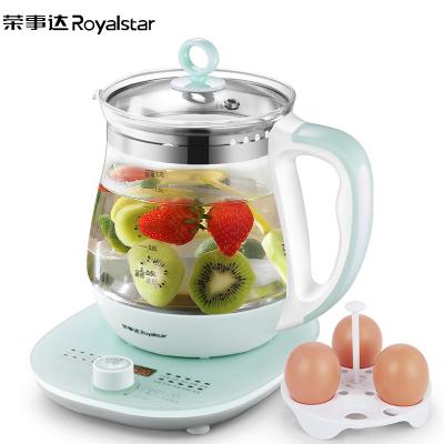 榮事達(Royalstar)全自動旋鈕多功能玻璃加厚養生壺YSH1710電熱燒水壺花茶壺煮茶器煮茶器1.7L