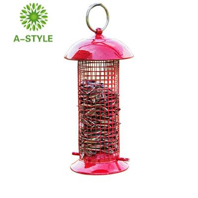 【】家有寵迷你喂鳥器戶外陽臺鳥類喂食器別墅小區喂鳥器