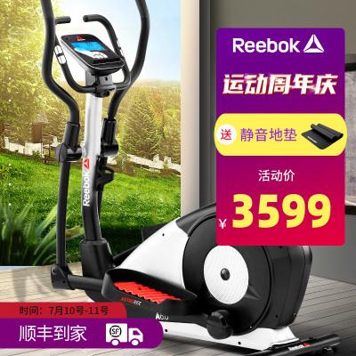 銳步(REEBOK)橢圓機家用靜音電磁控單軌道健身器材橢圓儀 橢圓機A6.0
