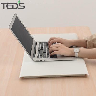 站立辦公桌筆記本站立式電腦升降桌工作臺可調節移動折疊簡約現代