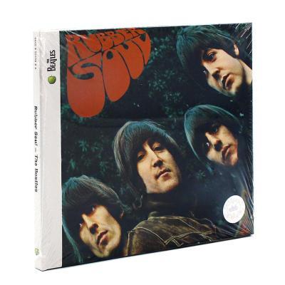 甲殼蟲樂隊/披頭士樂隊 The Beatles Rubber Soul 原版進口CD專輯