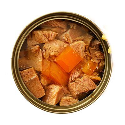 派德萊狗罐頭 犬濕糧主食拌糧100g/罐 狗狗零食用品大塊鹿肉+牛肉 鮮肉營養壯骨亮毛 100g*12罐