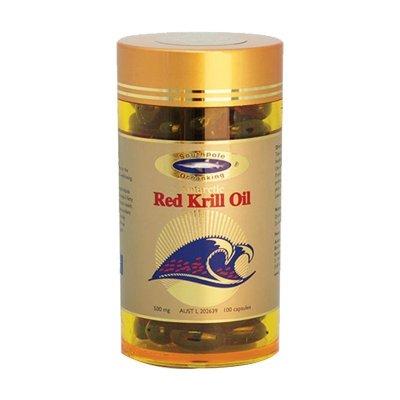 澳洲直郵 假一賠十 3瓶禮盒價 Southpole Oceanking 南極海王 紅磷蝦油 100粒瓶裝 蝦青素