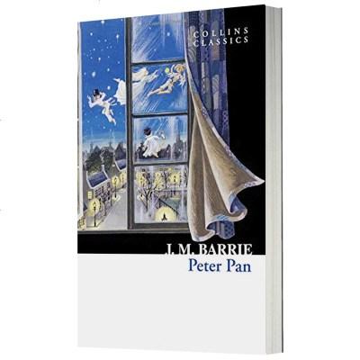 英文原版小說 Peter Pan 彼得潘童話故事書 小飛俠 柯林斯經典系列 兒童文學經典 英文版 正版進口書籍
