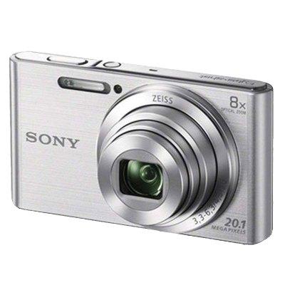 索尼(SONY)數碼相機 卡片機 家用相機 DSC-W830銀色全景掃描 家用公司禮品獎品 【送實惠大禮包】