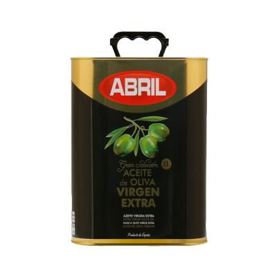 ABRIL 艾伯瑞 初榨橄榄油铝桶装3L 烹饪用油 食用油 凉拌 压榨