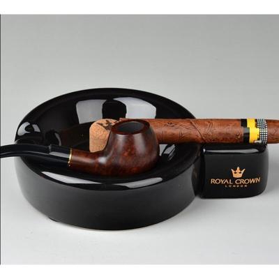 雪茄煙斗煙灰缸兩用 陶瓷骨瓷煙灰缸多功能煙灰缸家用會所