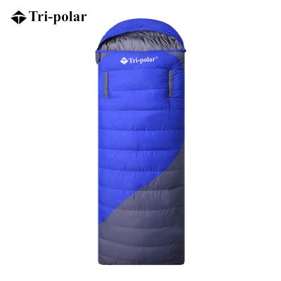 三極戶外(Tripolar) TP2940-1 羽絨睡袋1.5KG可伸手成人室內外午休冬季加厚保暖單人露營鴨絨睡袋