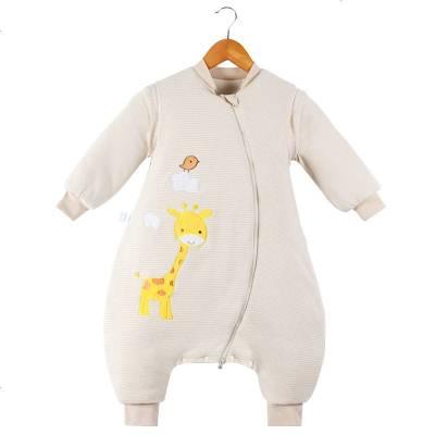 宝宝婴儿睡袋冬季加厚儿童秋冬款小孩幼儿防踢被分腿新生儿中大童