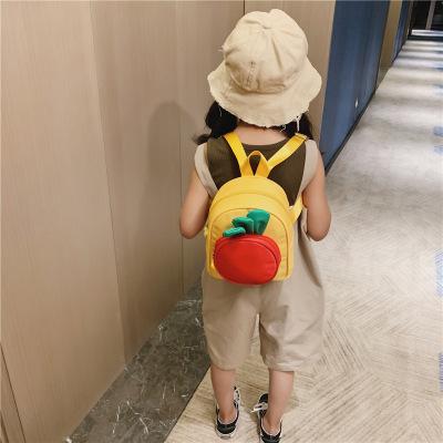 兒童小書包 1-3歲卡通蘿卜防水寶寶雙肩包 男女小孩嬰兒迷你包包