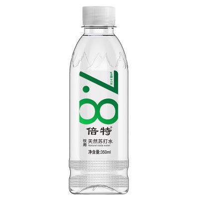 倍特天然苏打水350ml*24瓶整箱 无糖无气弱碱性水 小瓶装天然矿泉水