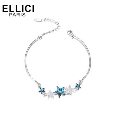 Elli&Ici Jewelry巴黎故事 starrynight系列星之梦925银女士手链时尚送女朋友老婆妈妈表白礼物