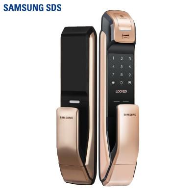 三星(SAMSUNG)家用防盗智能指纹密码电子锁磁卡锁推拉开门 智能锁SHP-DP728