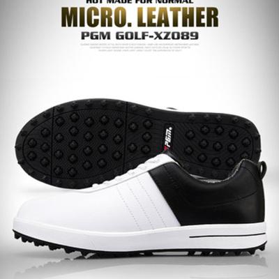 高爾夫球鞋 男士防水透氣鞋子 高爾夫運動鞋無釘鞋