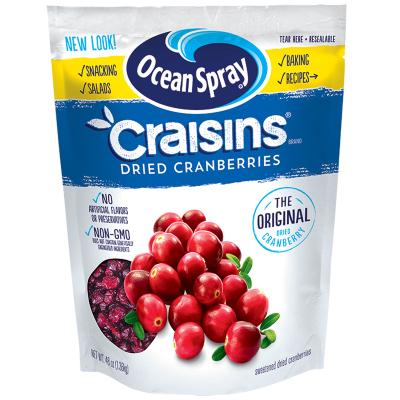 【1360g大包裝】優鮮沛(Craisins)蔓越莓干 原味 1360g/袋 果干蜜餞果脯烘焙原料零 進口食品美國進口