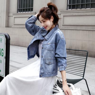 佐露絲RALOS女士牛仔服外套女短款2020春季新款韓版學院風bf寬松時尚百搭上衣