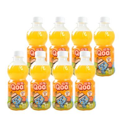 可口可樂美汁源酷兒橙汁果汁300ml*12瓶 迷你小瓶裝飲料