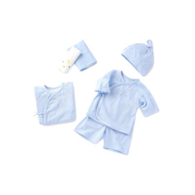 巴拉巴拉新生嬰兒用品必備初生男女童寶寶衣服禮盒0-3個月六件套