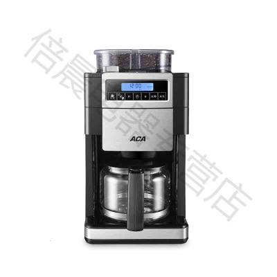 ACA/北美電器 商用咖啡機家用全自動磨豆美式研磨一體機